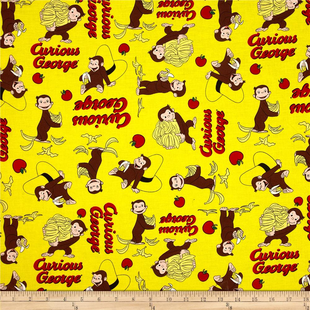 Curious George Hanging Out Curious George Fruit Toss Yellow