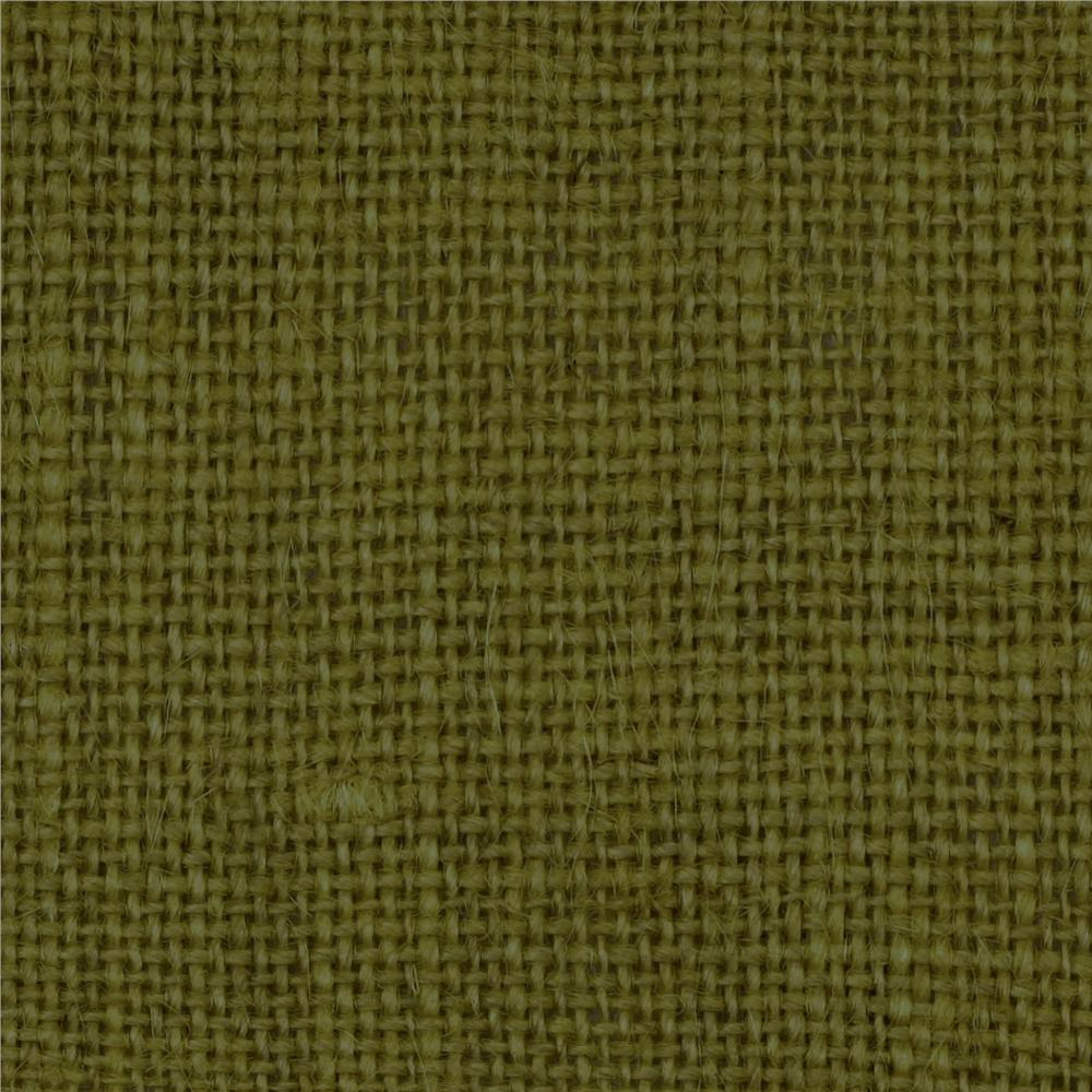 Burlap moss green discount designer fabric for Cloth material