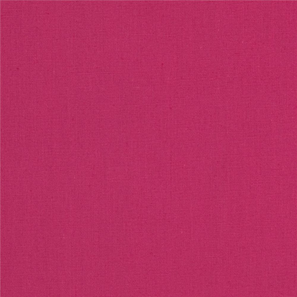 Stretch Cotton Poplin Pink