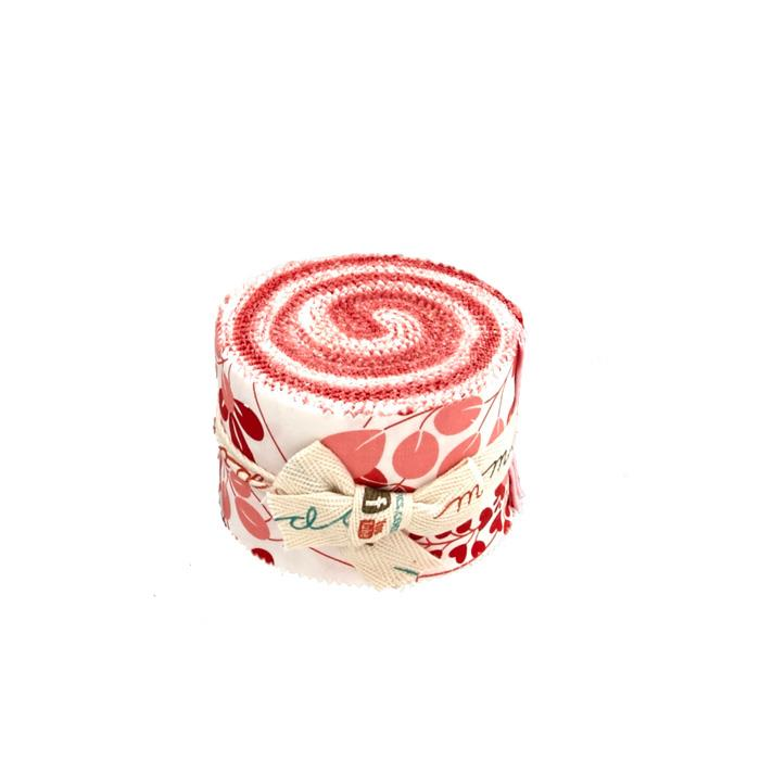 Moda Simply Colorful 2.5 In. Jun Jelly Rolls Red