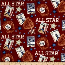 Play Ball All Star Red