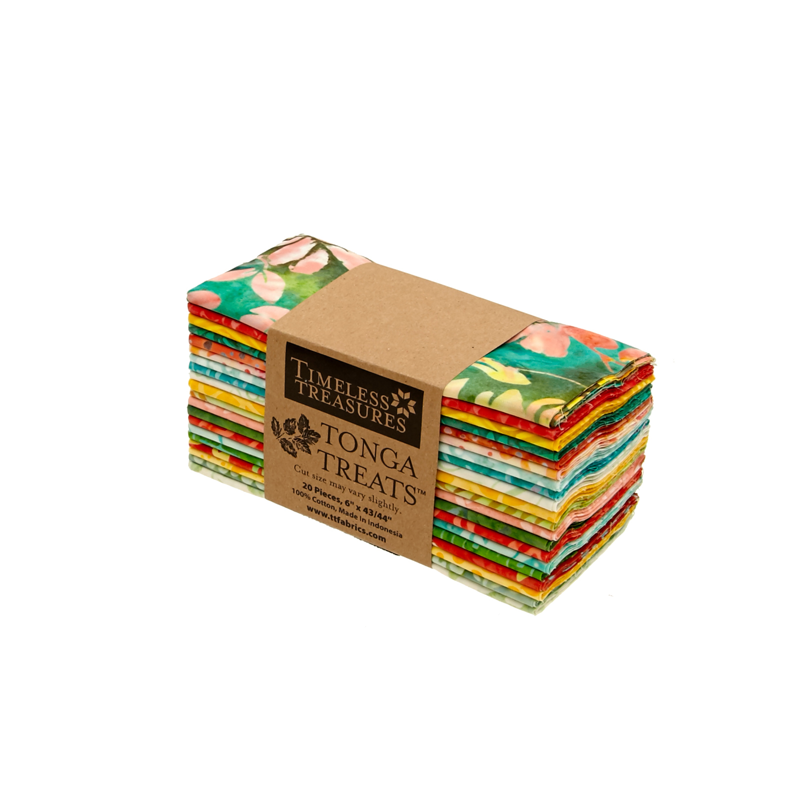Timeless Treasures Tonga Treat Salsa 6'' Strips by Timeless Treasures in USA