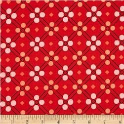 Cotton & Steel Picnic Blanket Red