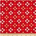 Cotton + Steel Picnic Blanket Red