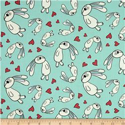 Cloud 9 Organic Knuffle Bunny Floating Bunny Blue