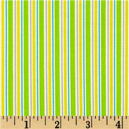 Child's Play Stripe Green/Yellow