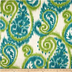 Richloom Solar Indoor/Outdoor Sorista Paisley Teal