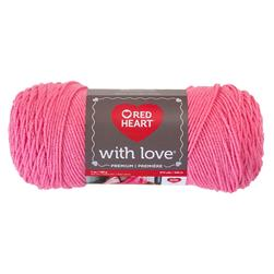 Red Heart Yarn With Love 1704 Bubblegum