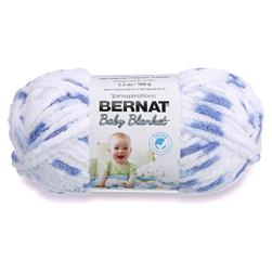 Bernat Baby Blanket  Yarn (03116) Little Denim