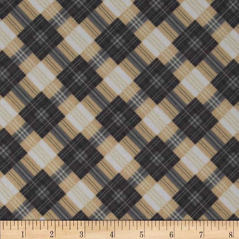 Great Scotts Flannel Mad for Plaid Beige