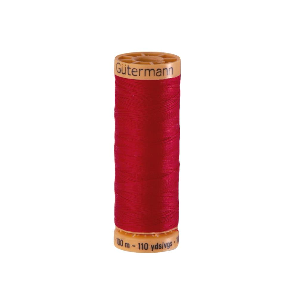 Gutermann Natural Cotton Thread 100m/109yds Red