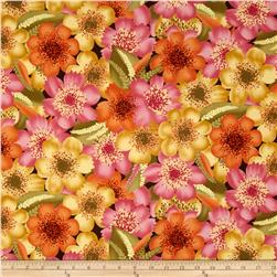 Sunset Symphony Floral Allover Multi
