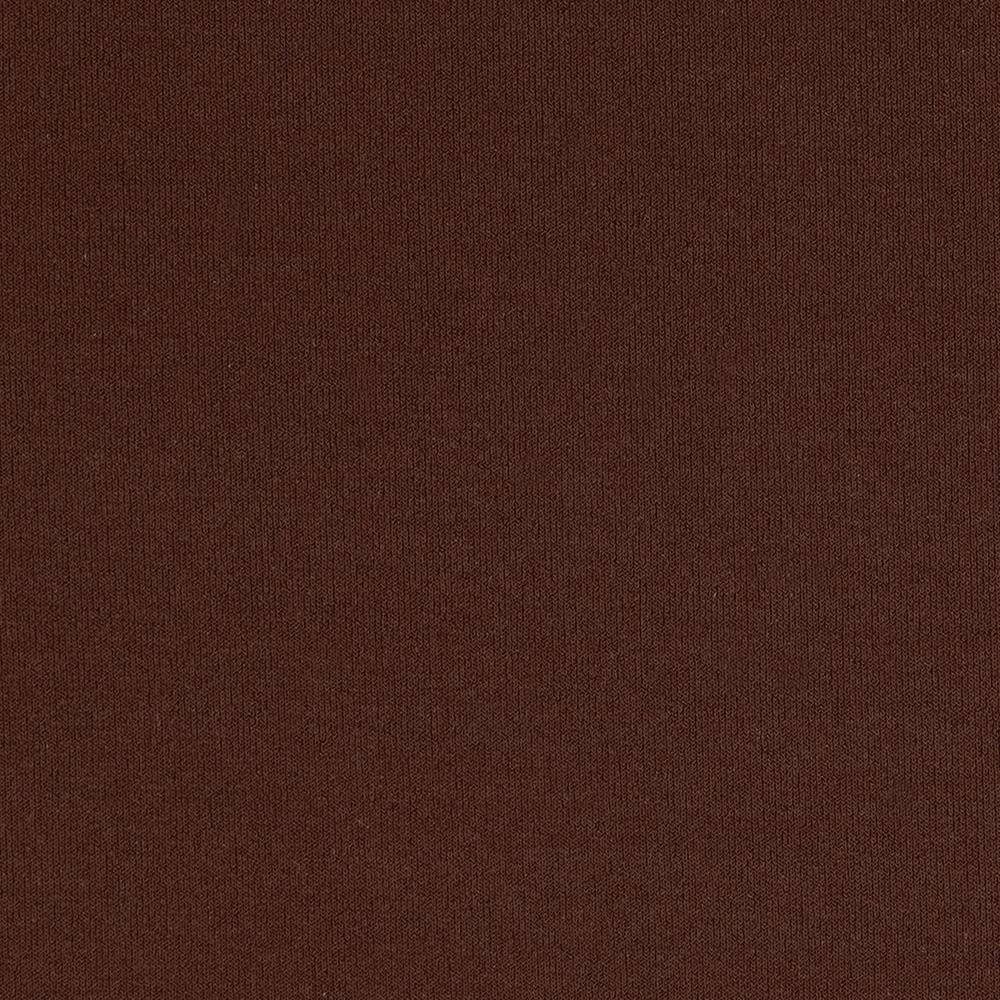 Stretch ITY Jersey Knit Solid Brown