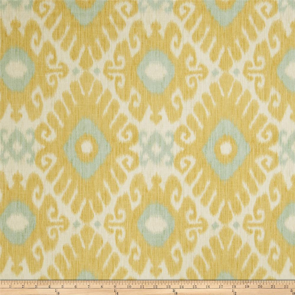 Jaclyn smith 02606 linen blend lemon zest discount for Fabric purchase