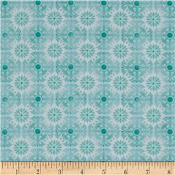 Treasures of Nature Under the Sea Tonal Medallion Aqua
