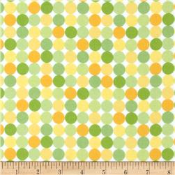 Riley Blake Snips & Snails Flannel Dots Yellow