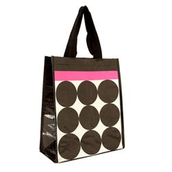 Insta-Totes Lunch Tote Stripes & Big Dots Pink