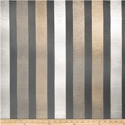 Fabricut Alexa Stripe Organza Sheer Quarry