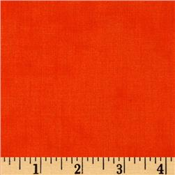 Moda Simple Marks Summer Solid Clementine