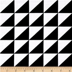 Riley Blake Sashing Stash Half-Square Triangles Black
