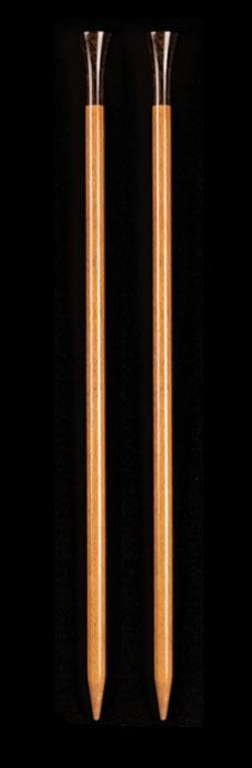 Lantern Moon 10'' Blonde Wood Knitting Needles US 11 (8mm)