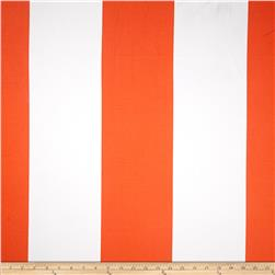 Michael Miller Bekko Home Decor Wide Stripe Tangerine