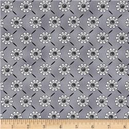 Ink Blossom Blossoms Grey