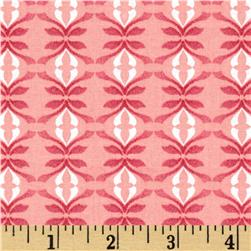 Gramercy Medalion Pink Fabric