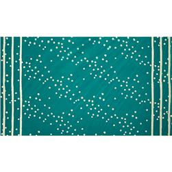 Alison Glass Handcrafted 2 Batik Double Border Stripe Dot Teal
