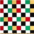 Kanvas Arnold's Diner Checkerboard Red/White/Green