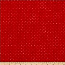 Essentials Brights Dotsy Brick Red
