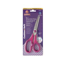 Cushion Soft Spring Action Dressmaker Shears 8.5""