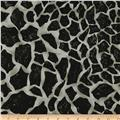 Wild Skins Abstract Leopard Black