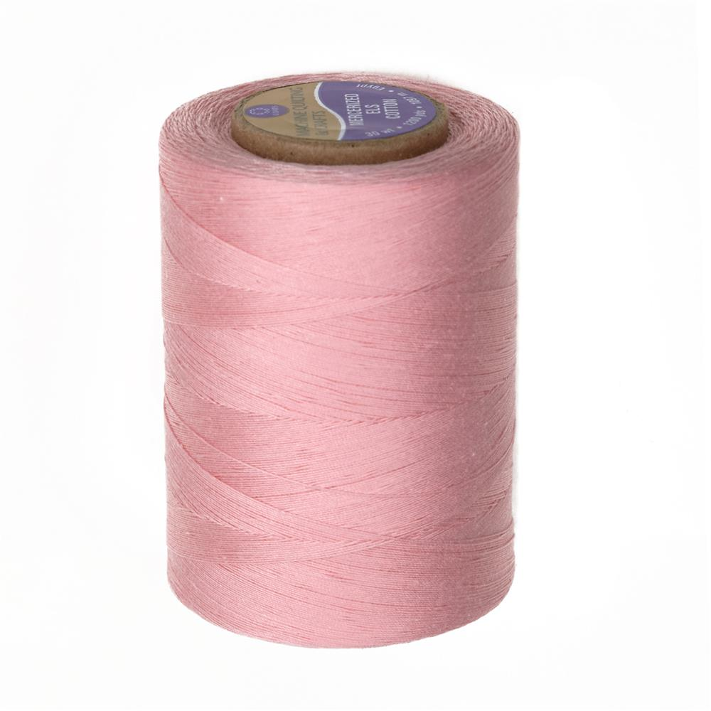 Cotton Machine Quilting Thread 1200 YD Light Pink