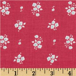 Riley Blake Enchant Floral Pink Fabric