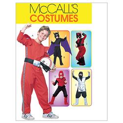 McCall's Children's/Boys' Good Guys Costumes Pattern M4951 Size BOY
