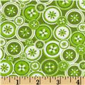 Jenean Morrison True Colors Buttons Green