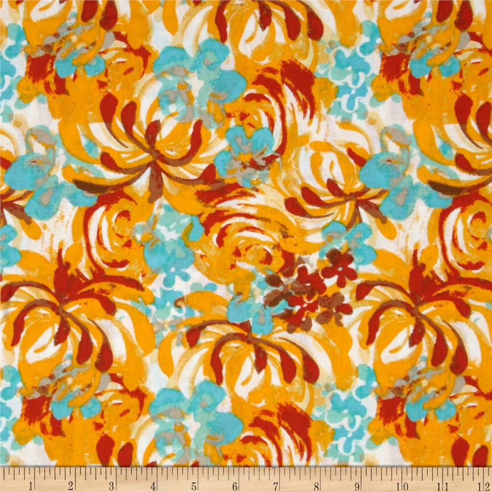 Saaremaa Large Floral Yellow