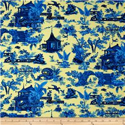 Botanica III The Royal Story Toile Gold/Royal