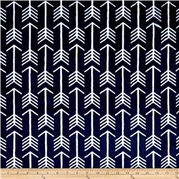Shannon Premier Prints Minky Cuddle Archer Navy/Snow