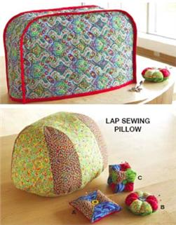 Kwik Sew Sewing Machine Cover, Sewing Pillow and Pin Cushions Pattern
