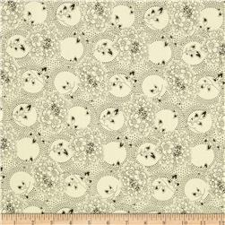 Cumberland Prints Chambray Floral Natural