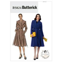 Butterick Misses' Coat Pattern B5824 Size A50