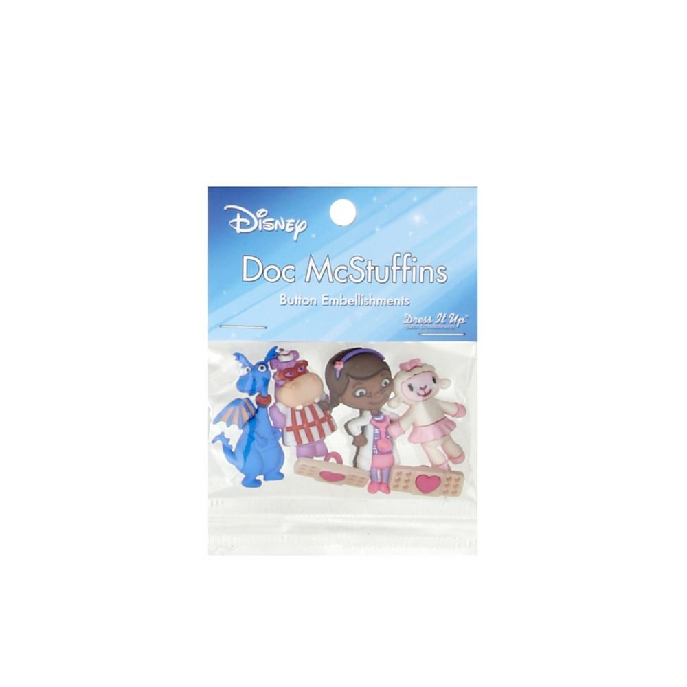 Dress It Up Disney Doc McStuffins Button