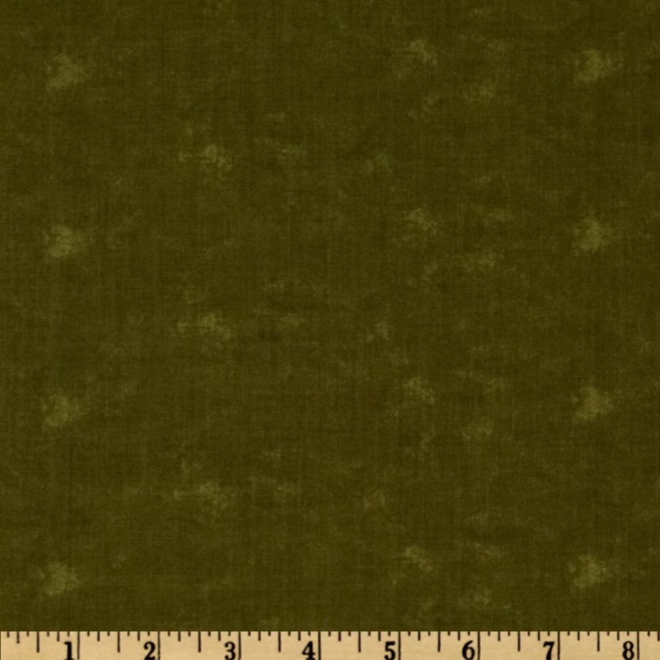 Moda Sandy's Solid Dark Green