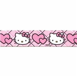 "7/8"" Hello Kitty Hearts Ribbon Pink"