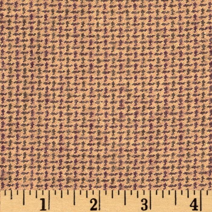 Primo Plaids V Flannel Ditsy Square Tan Fabric By The Yard