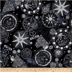 Star Gazing Metallic Celestial Black/Silver