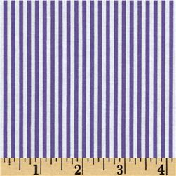 Stripe Purple/White