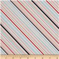 Riley Blake Game Day Stripe Multi